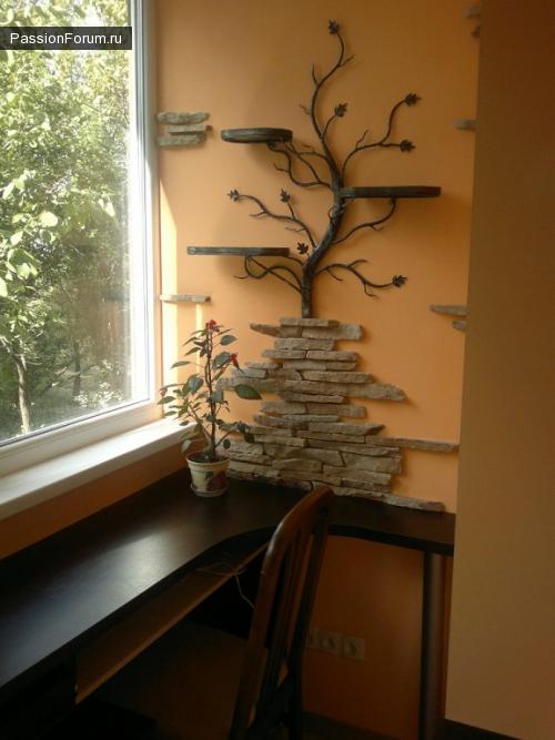 Кованное дерево
