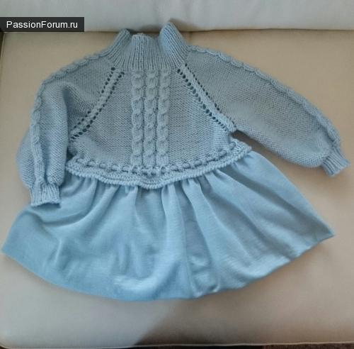 Вязаные наряды для девочки