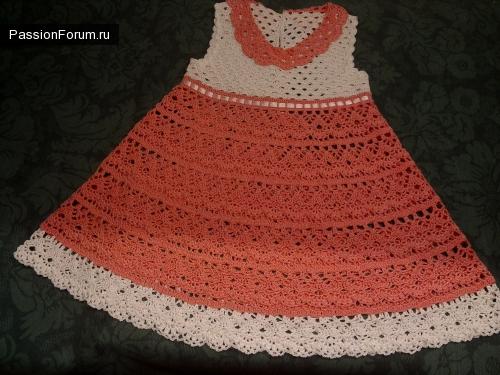 Платье и шляпка в подарок нашей подружке