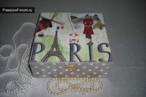 Любимая тема алматинцев - Париж!