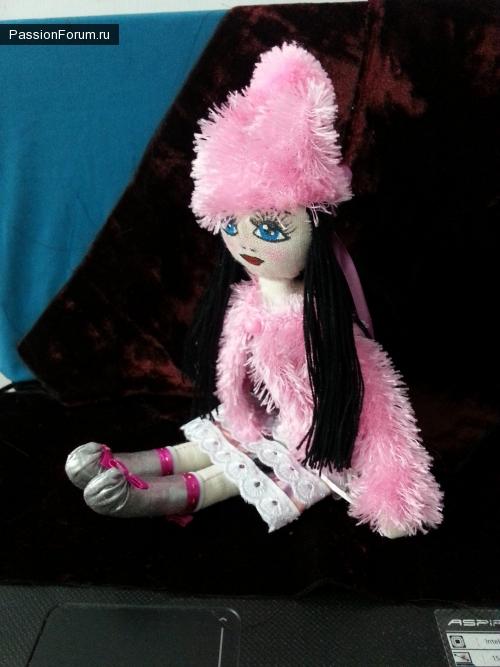 Моя первая маленькая куколка!