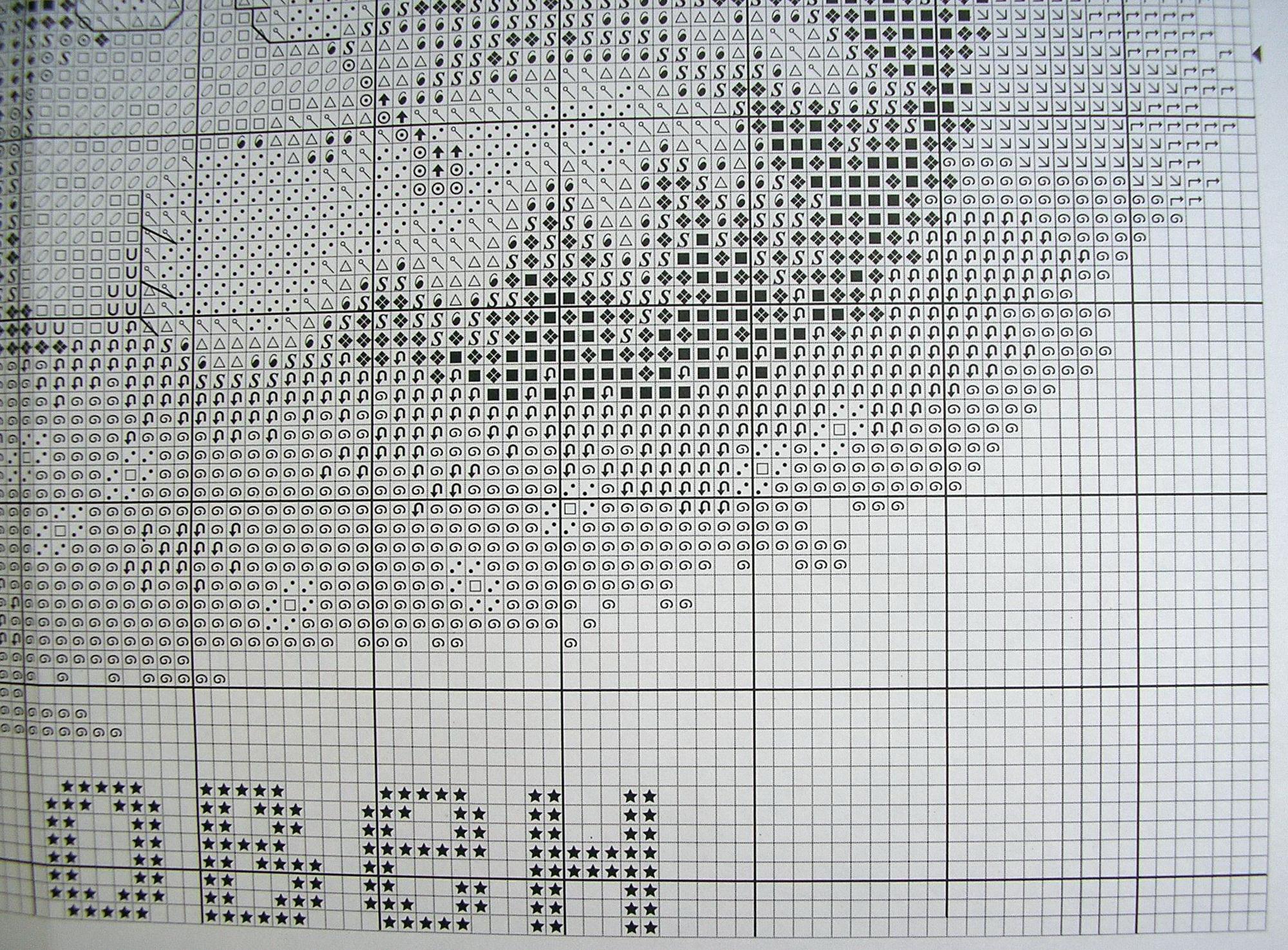 Скачать схемы для вышивки овен