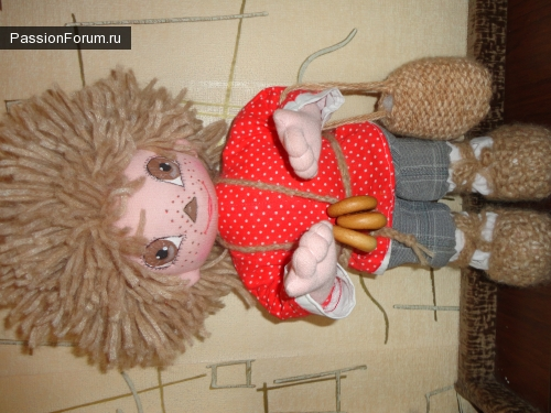 Вот мои первые куклы
