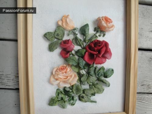 У меня продолжаеться сезон цветения роз