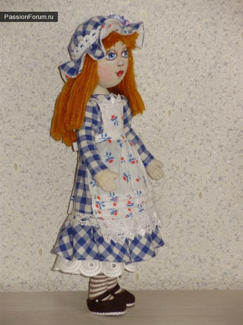 Кукла ручной работы Алиса.
