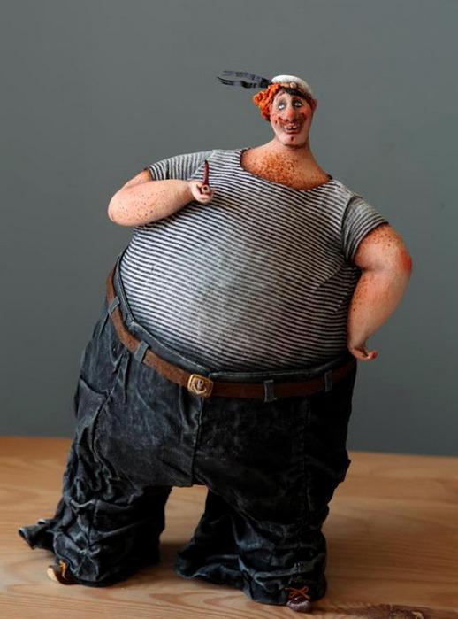 Смешные картинки про толстого мужика, открытки день рождения