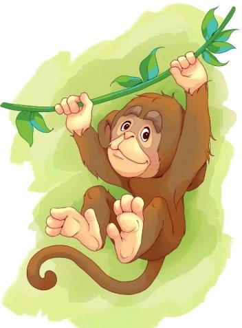 Рисовать картинки обезьяна