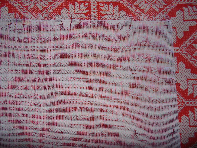 Накладная канва: как вышивать на накладной канве - Рукоделие 3
