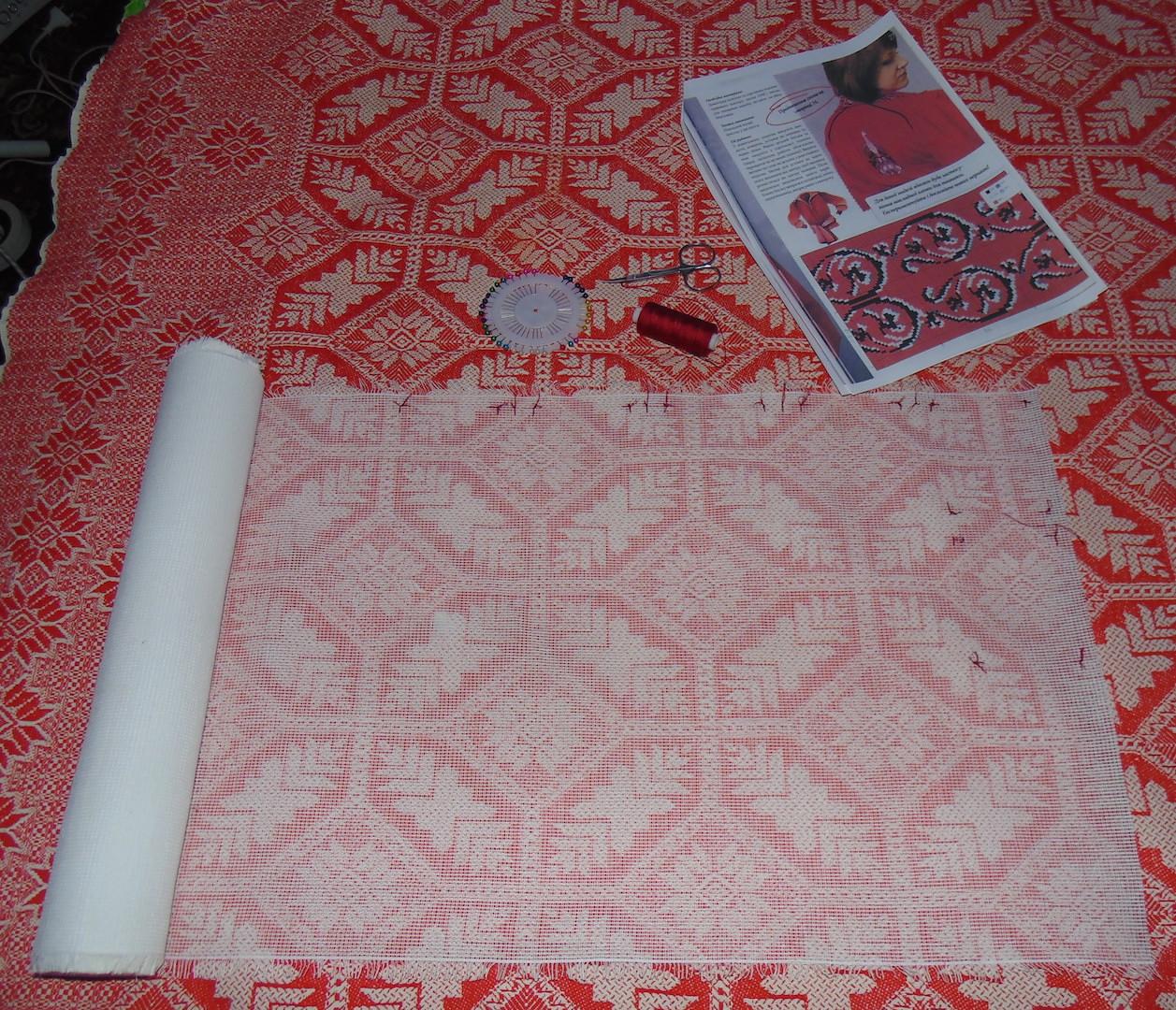 Накладная канва: как вышивать на накладной канве - Рукоделие 52