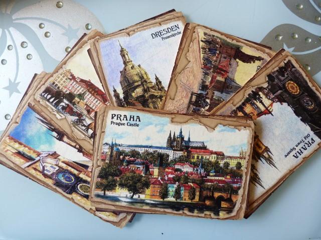 открытки разных стран мира девушка мечтала
