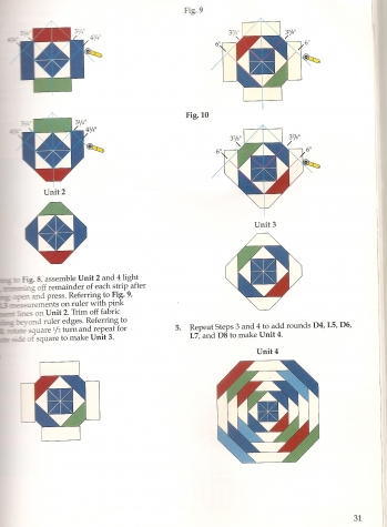 ">      Bruce Akin ""Quick-method Quilts Galor""     ISBN 0-942237-57-9"