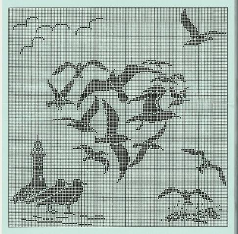 филейное вязание шторы схемы запись пользователя Vikpolia нина