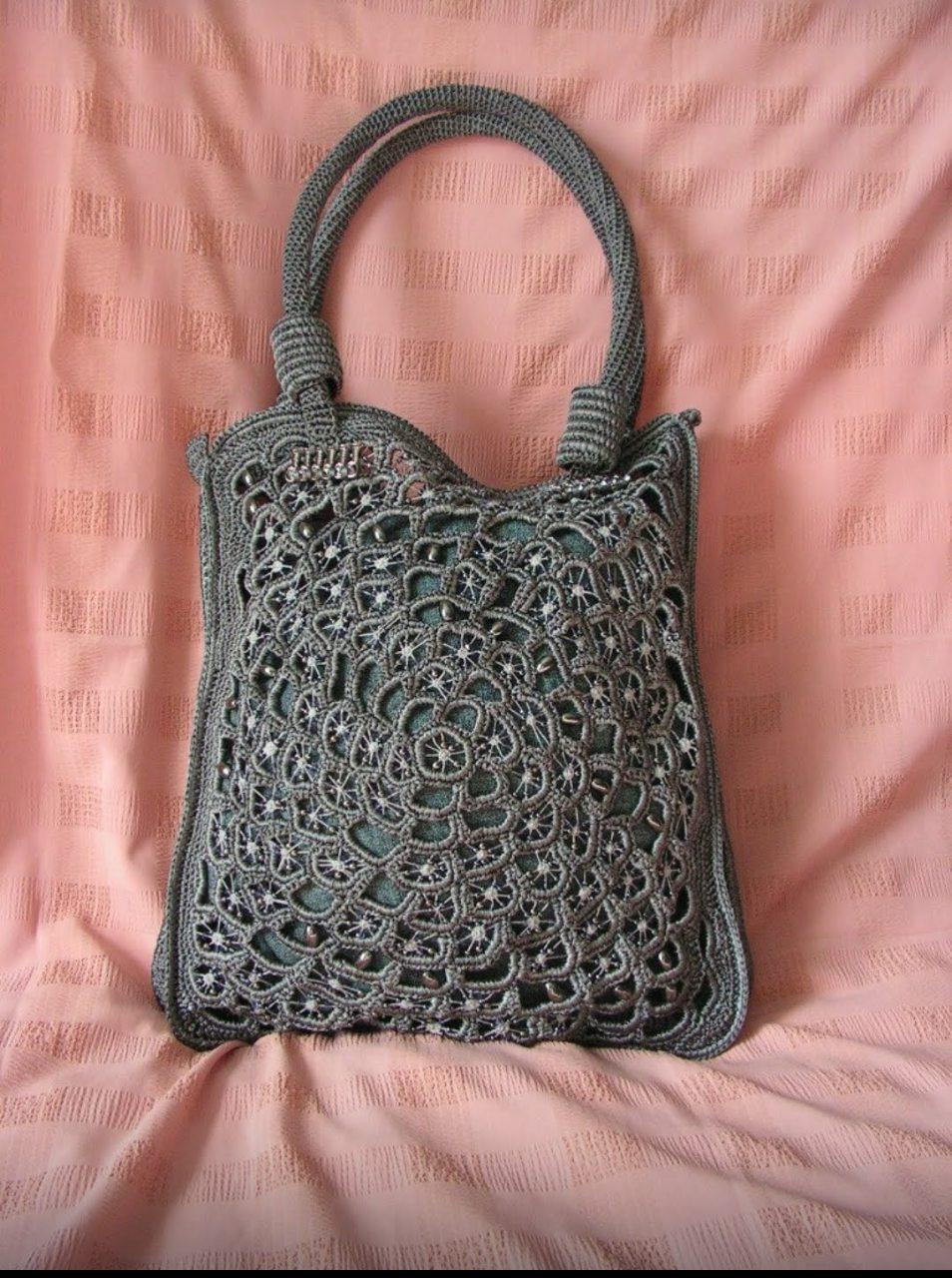 a2b66e2f48e2 сумка своими руками, сумка в подарок, сумка вязаная, сумка вязаная крючком,  сумка для женщины
