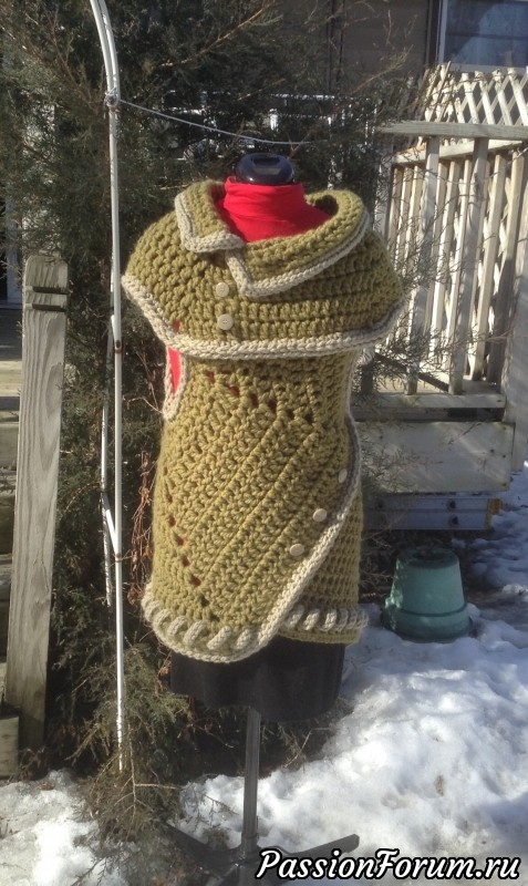 Схемы вязания пуховых платков - ОренбургШаль 71