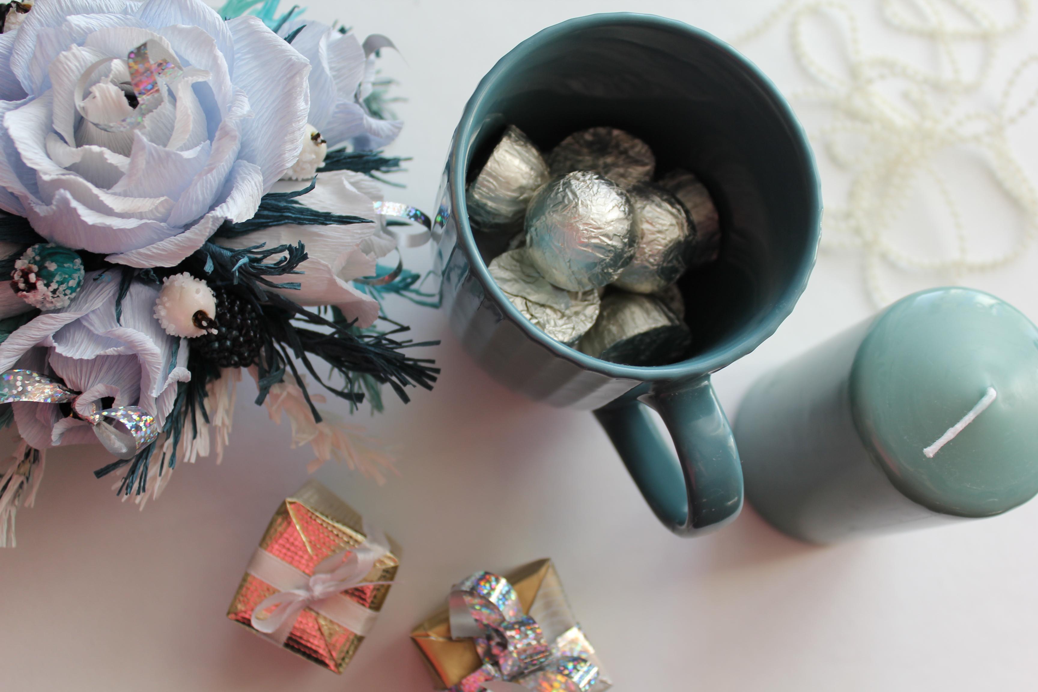 Кружки из конфет своими руками фото 342