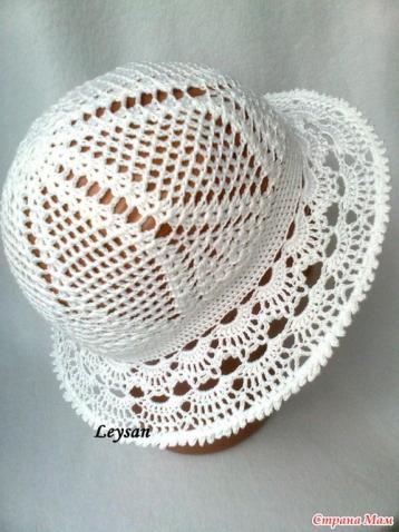 летние шляпки крючком этап 1 й донышко запись пользователя мила