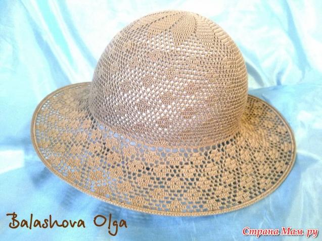 Вязаные летние шляпки со схемами женщин фото 100