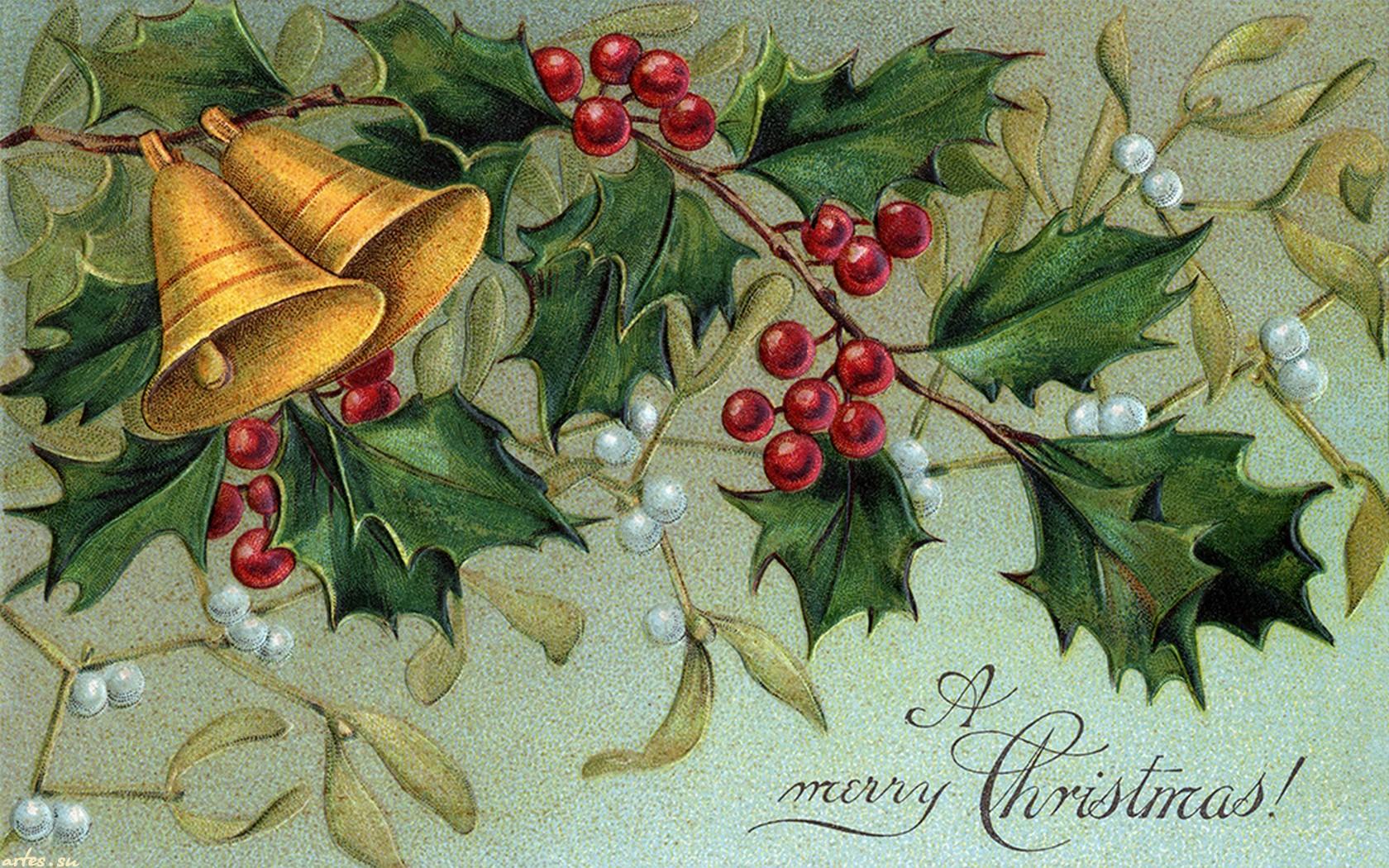 Новогодняя открытка на английский, международным