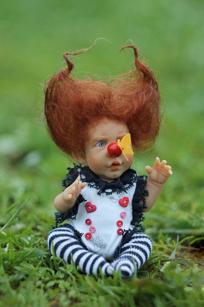 Прикольные картинки кукла