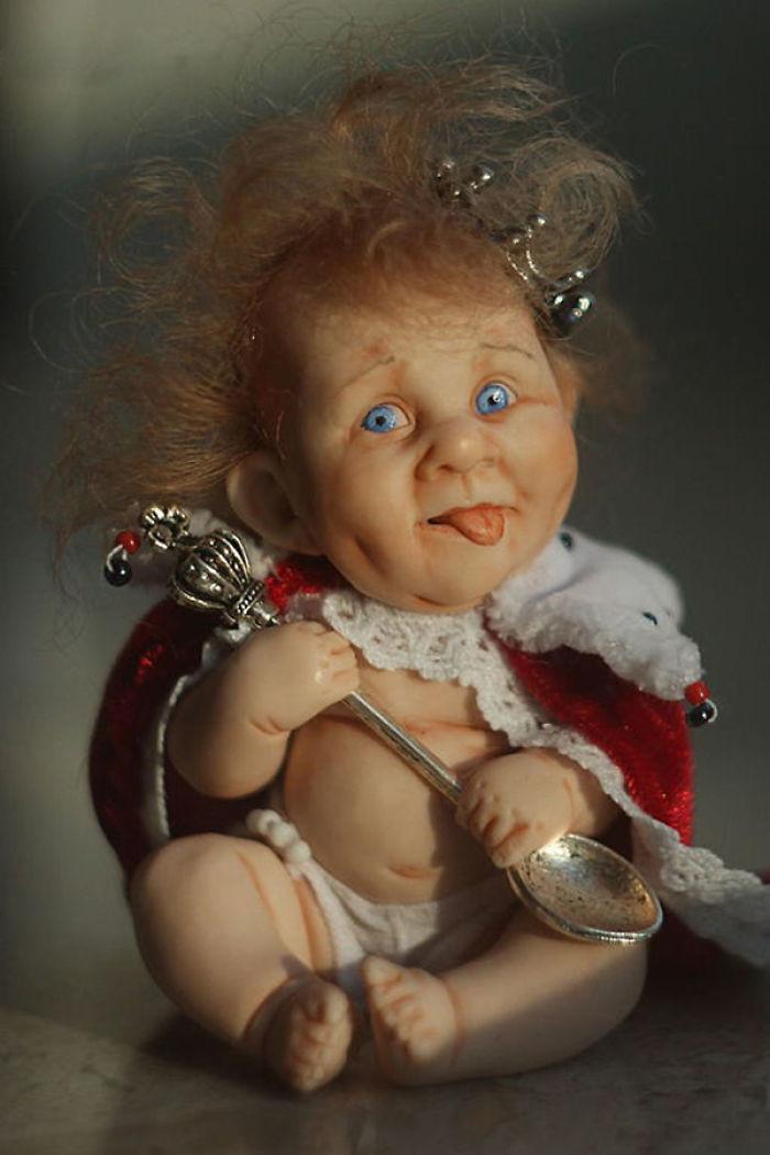 Открытку онлайн, прикольный картинки кукол