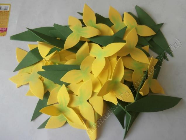 На 17 цветков