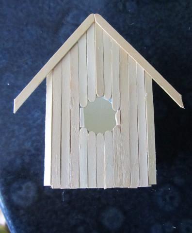 вот такой домик для птички