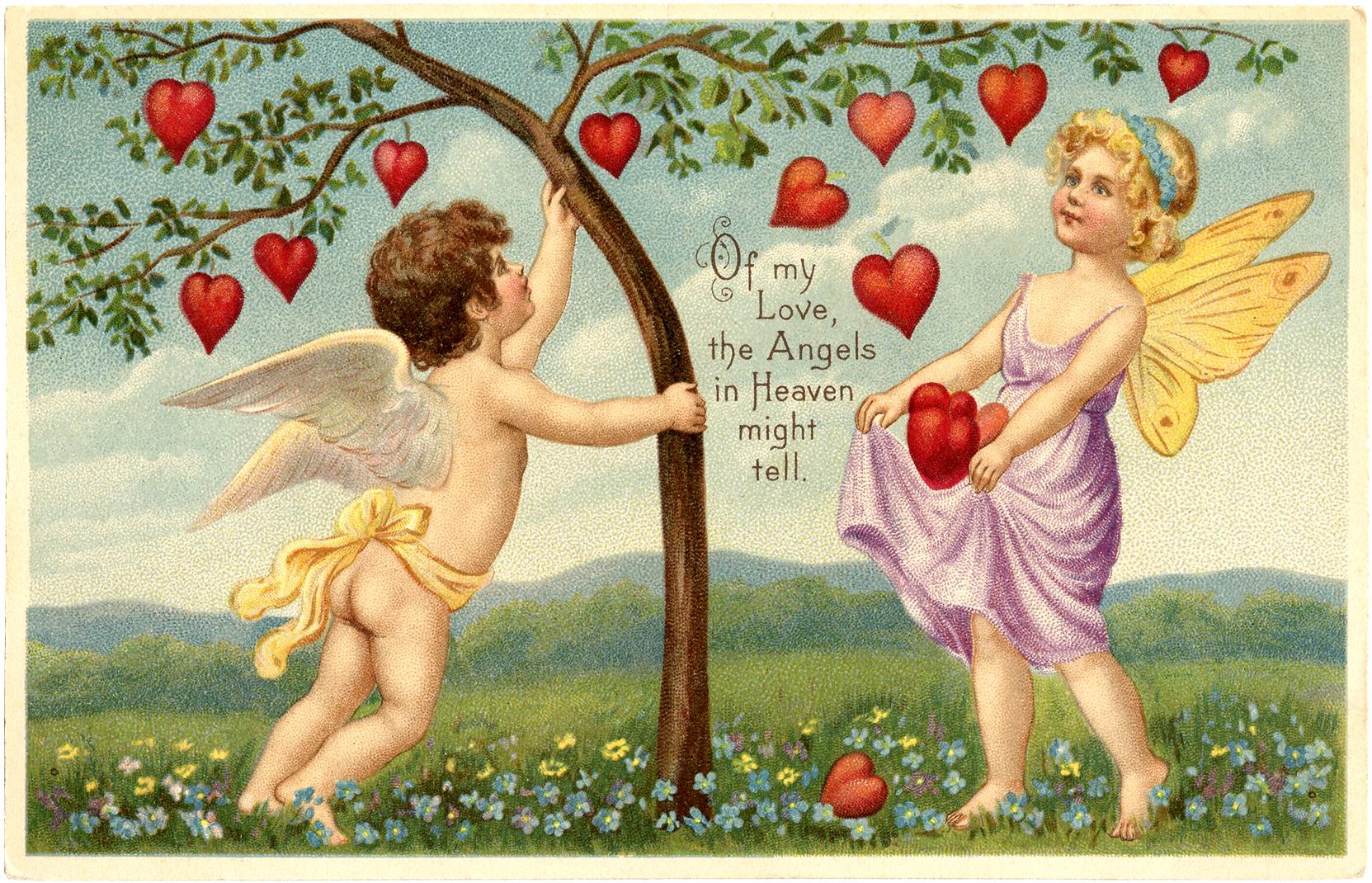 Открытка, французские открытки про любовь