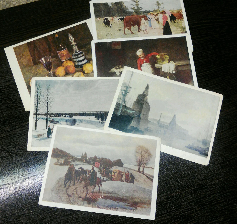 Мои коллекции открыток видео
