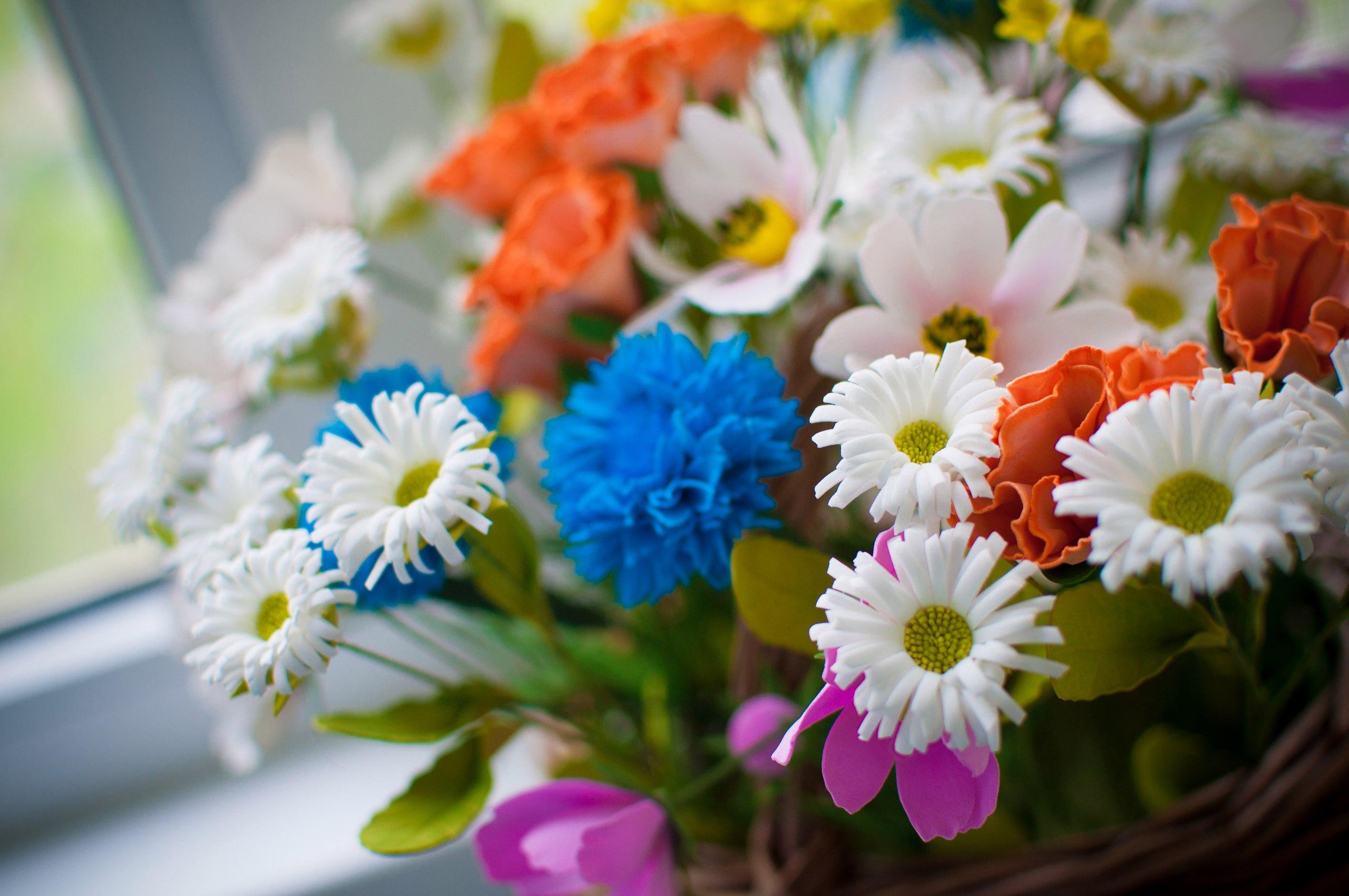 Летний букет, доставка цветов спб