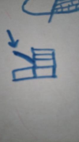 Затем вяжем часть,которая будет закрывать стопу. 4 сбн - 4 раза.
