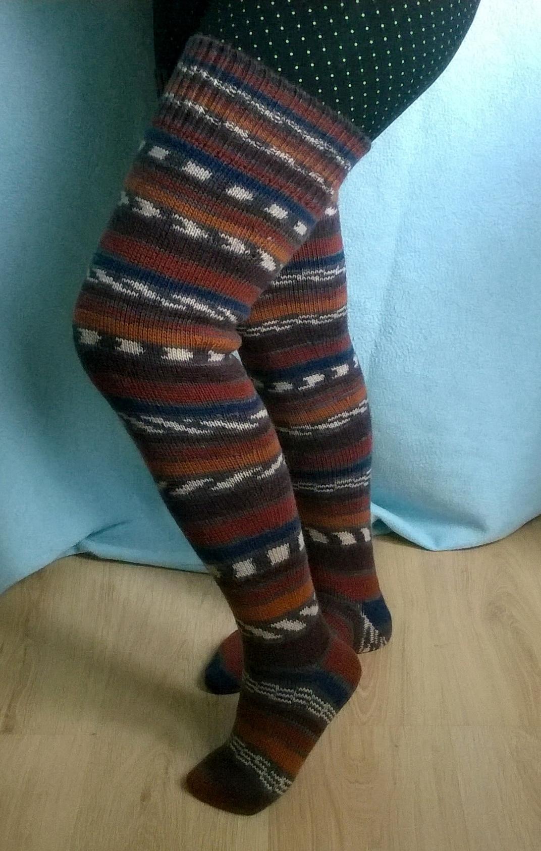 a85ccaf1ae1e0 Гольфы тёплые, мягкие связаны из турецкой шерстяной пряжи Alize,  рекомендованной для чулочно -носочных