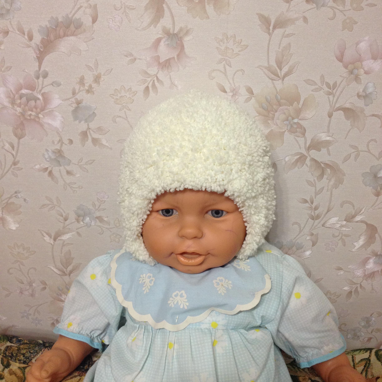 шапочка из плюшевой пряжи запись пользователя Olga ольга в