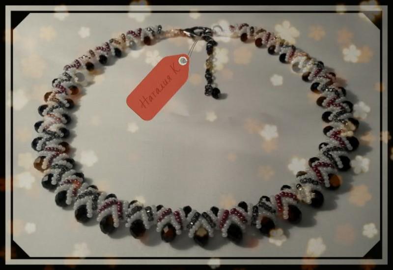 колье и браслеты из бусин и бисера запись пользователя наталия к
