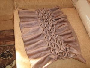 Круглые подушки своими руками