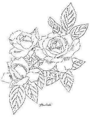Схема вышивки бисером розы фото 797
