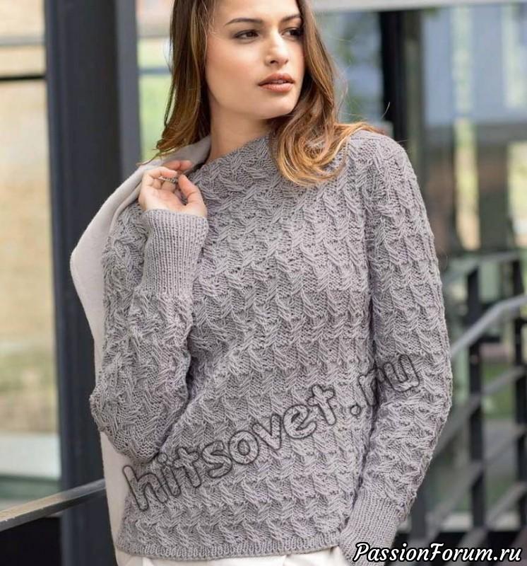 свитер с красивым узором запись пользователя лисик светлана в