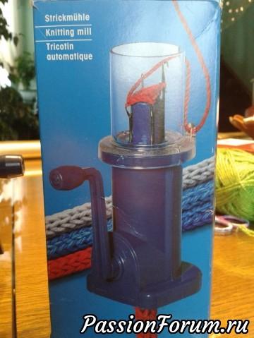 Машинка Прим для плетения шнуров.