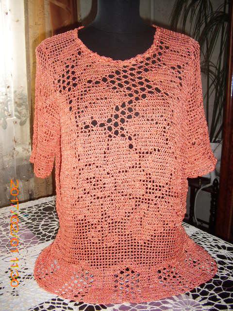 летняя блуза филейка запись пользователя Tancha татьяна в