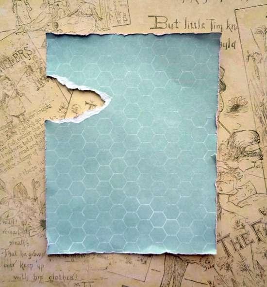 Как сделать рваный край в открытке, открытка болей открытки