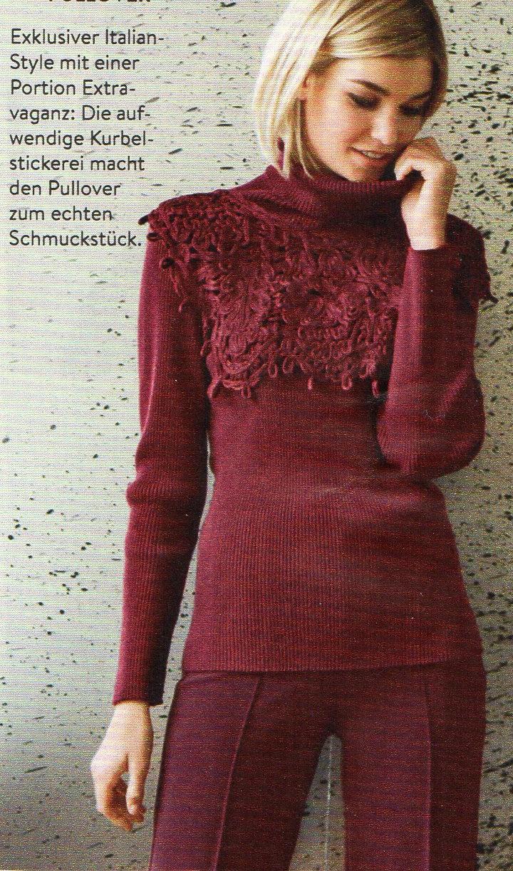 f3077e657e3 Интересная кокетка свитера. - запись пользователя Natalie Lenhart ...