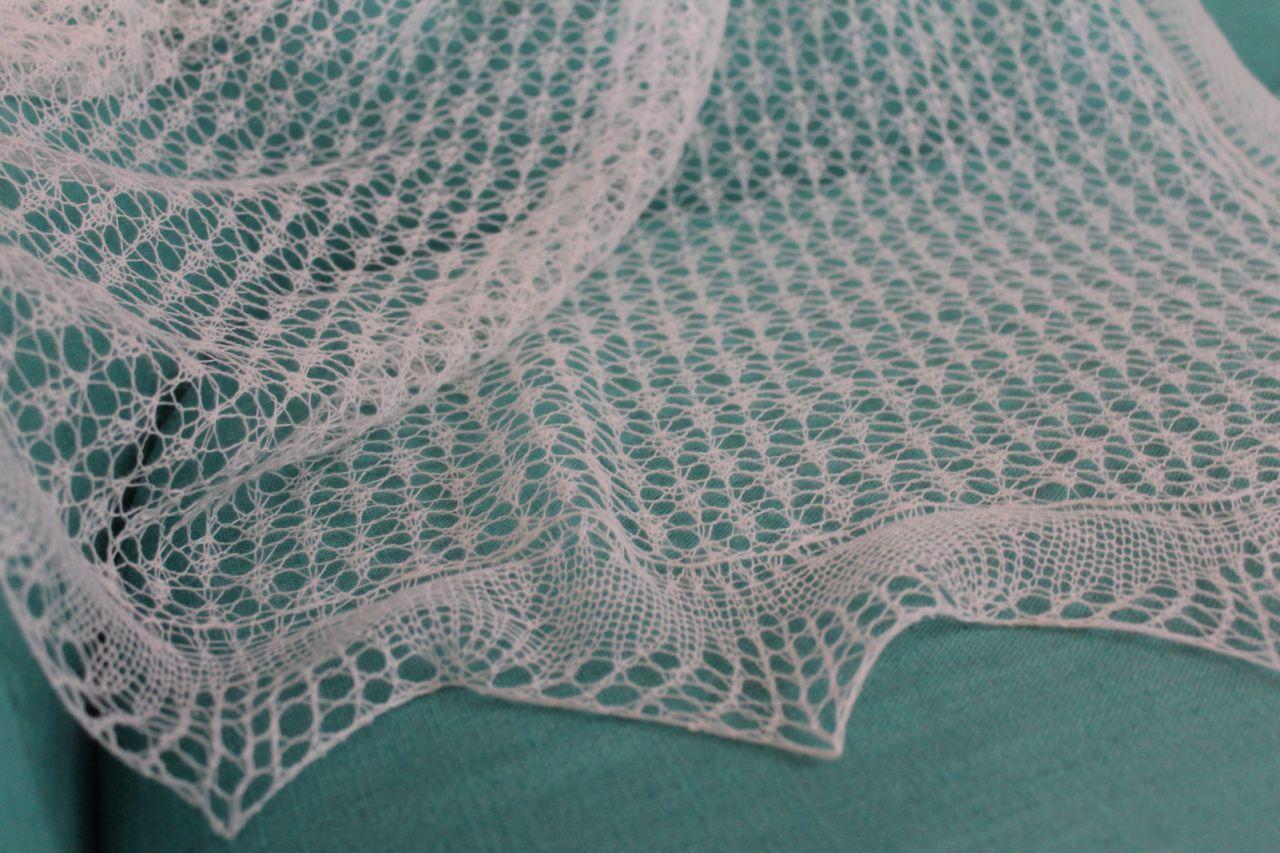 Вязание паутинки спицами схема