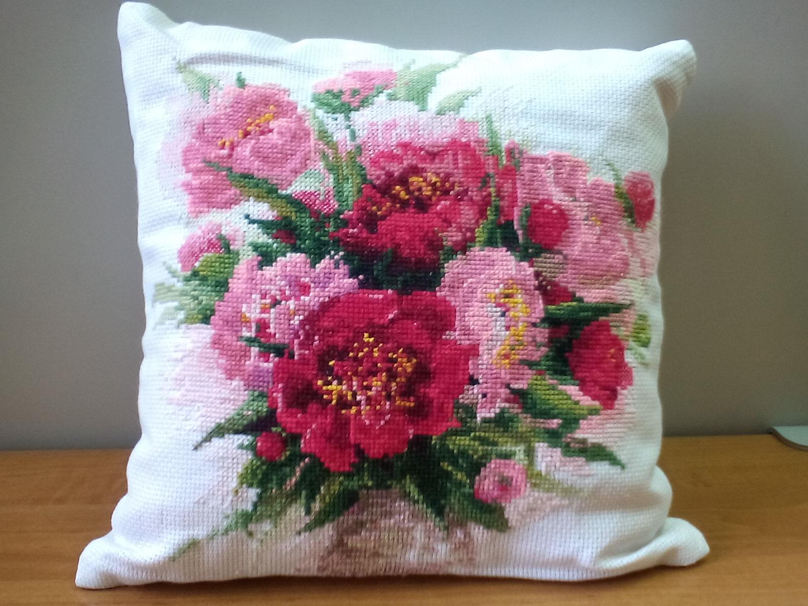 Схема вышивки крестом тюльпаны от риолис