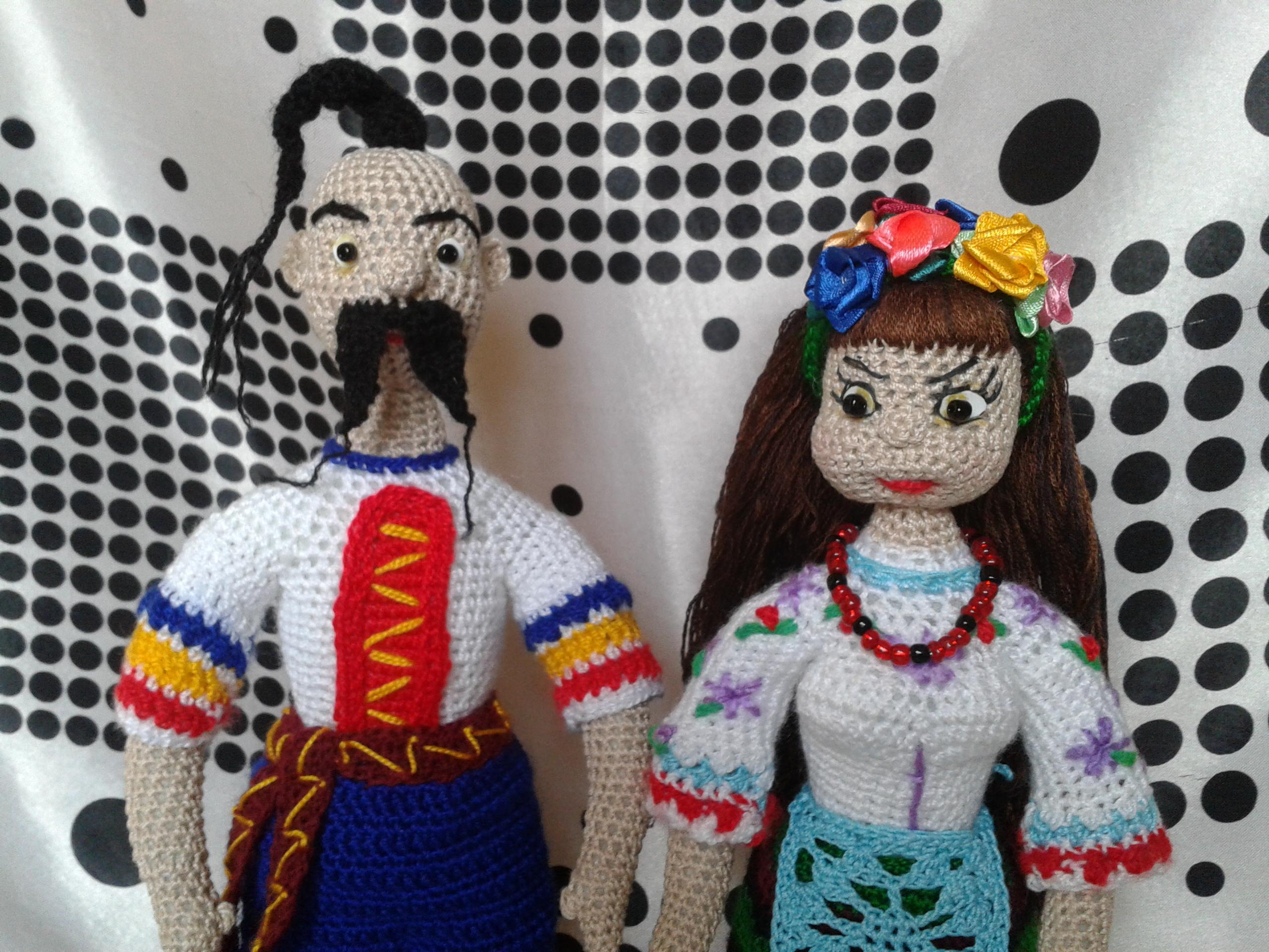 украинский сувенир куклы вязанные крючком запись пользователя