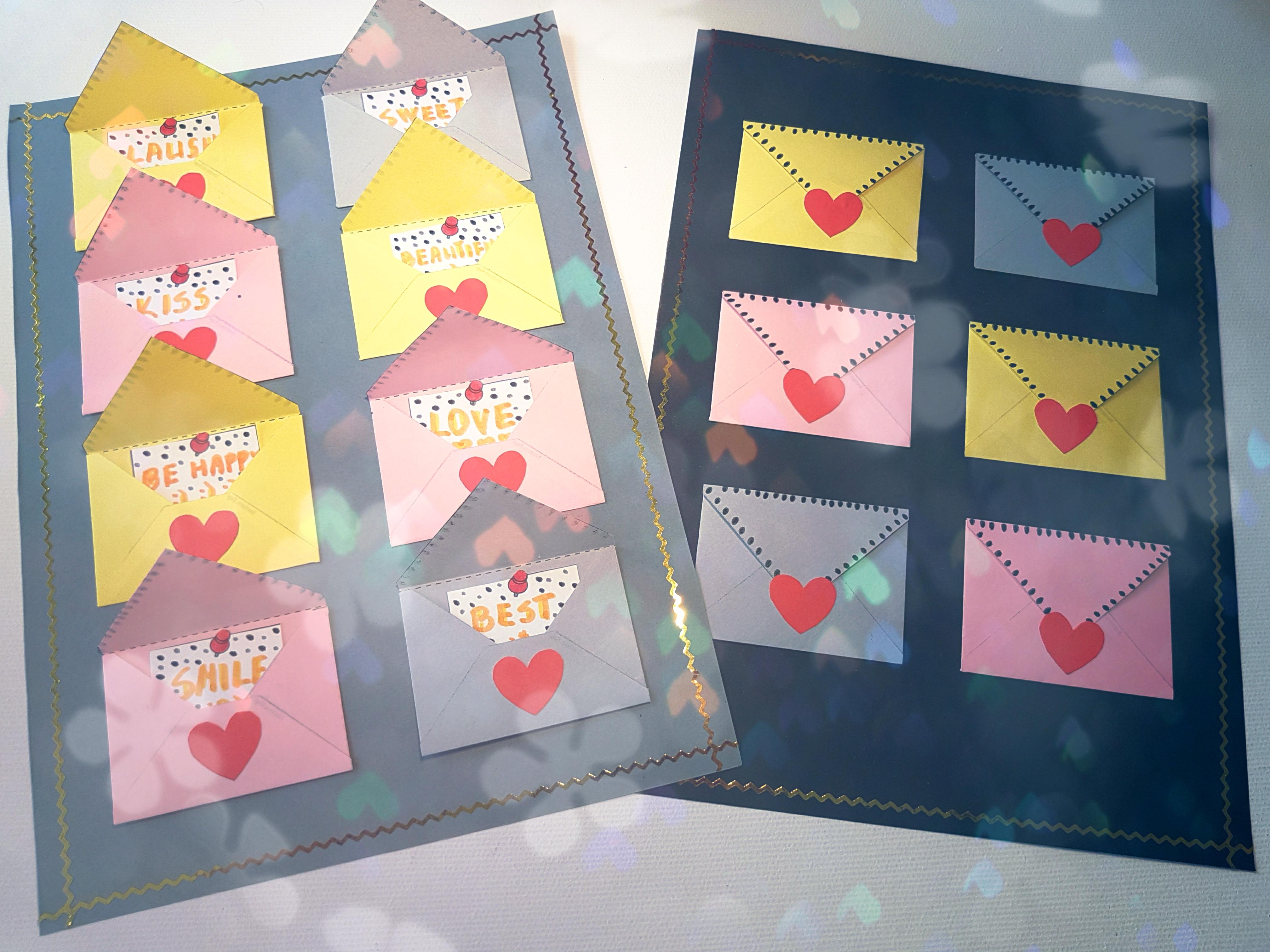 Прикольные картинки, открытки с конвертиками своими руками