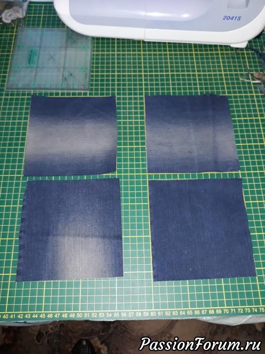 Поделки из джинсовой ткани своими руками