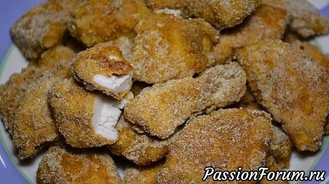 Наггетсы в духовке - пошаговый рецепт с фото: как приготовить 48