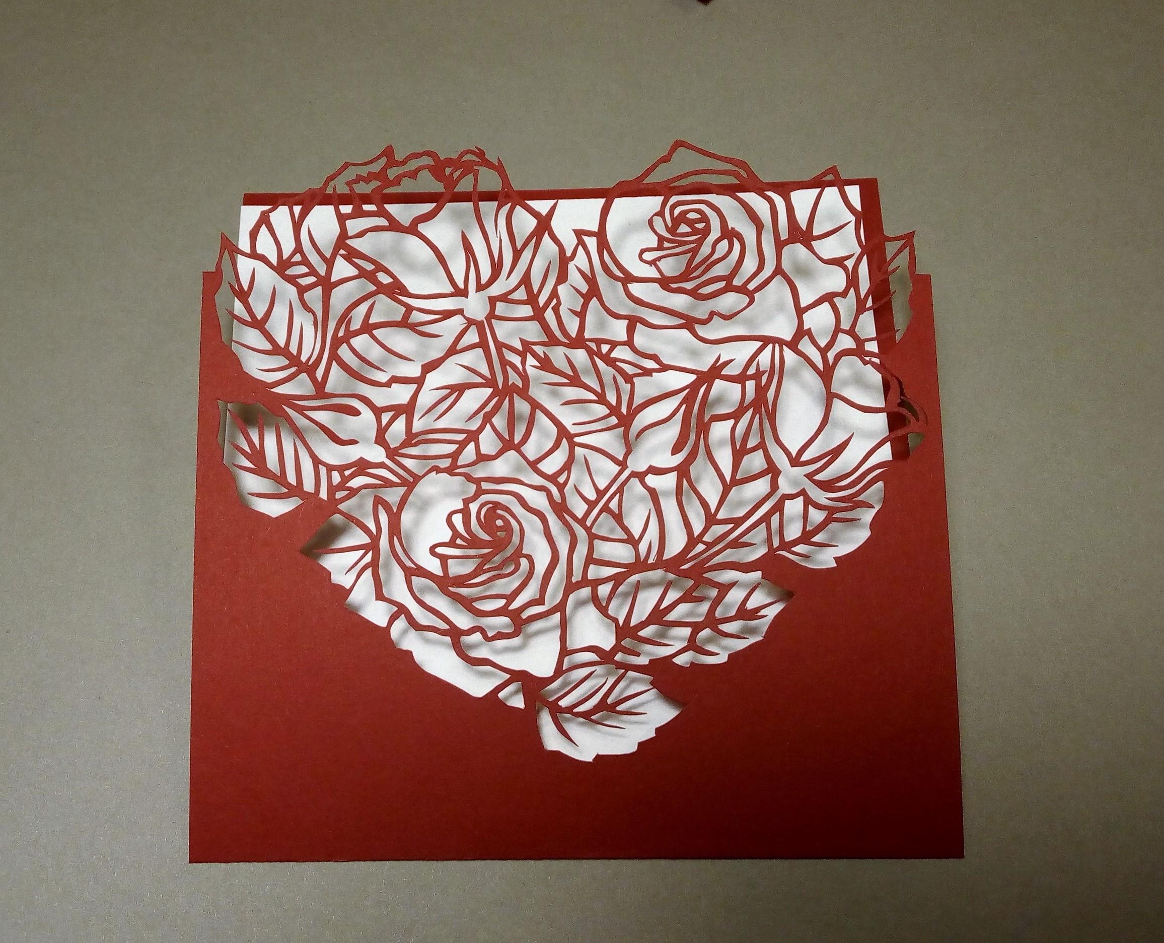 Вытынанки для открытки
