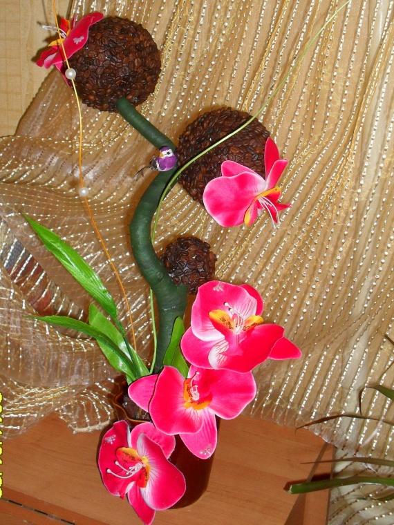 Кофе с запахом орхидей