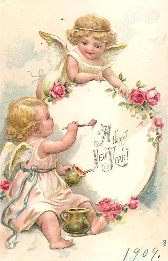 есть рождественские картинки с ангелами для декупажа купить современный