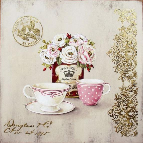 налей мне чашечку чая